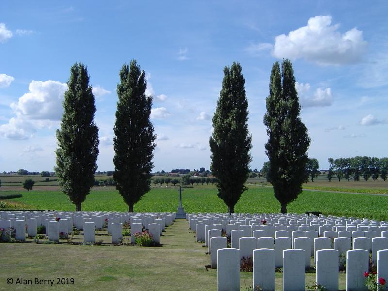 Klein Vierstraat Cemetery