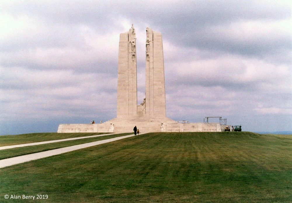 Canadian Memorial on Vimy Ridge